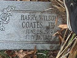 Harry Wilson Coates, Jr