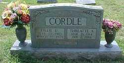 Lillian Mae Lillie <i>Daniel</i> Cordle