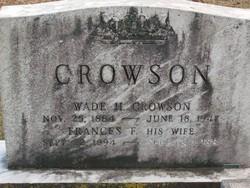 Frances <i>Fleming</i> Crowson