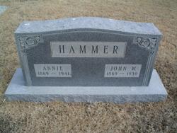 Annie <i>Cook</i> Hammer