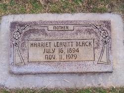 Harriet <i>Leavitt</i> Black