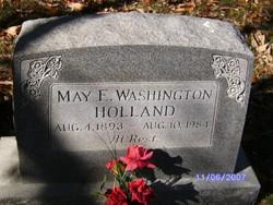 May E <i>Holland</i> Washington