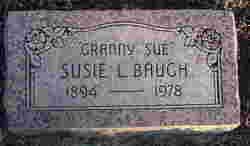 Susie L Granny Sue Baugh