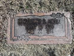Elizabeth B. Acree