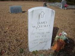 Pvt James McCleskey