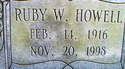 Ruby W Howell