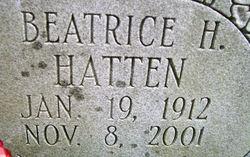 Beatrice H Hatten