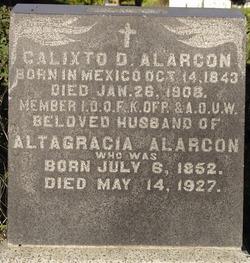 Calixto D Alarcon