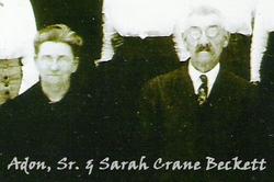 Sarah Elizabeth <i>Crane</i> Beckett