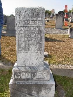 Malinda <i>Edwards</i> Cooper