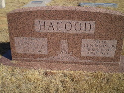 Frances Eldora <i>Harris</i> Hagood
