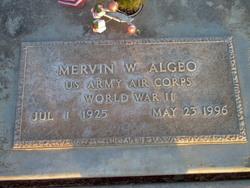 Mervin Wesley Algeo
