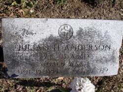 Julian H. Anderson