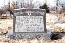 Walter W. Fore