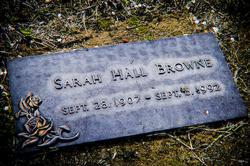 Sarah Hall <i>Hall</i> Browne