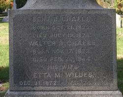 Etta M. <i>Wildes</i> Chafee