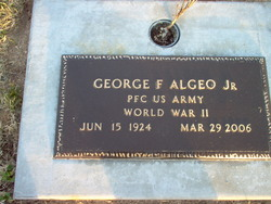PFC George Franklin Bud Algeo, Jr
