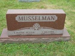 E Maude <i>McNair</i> Musselman