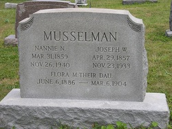 Nannie Naomi <i>Plank</i> Musselman