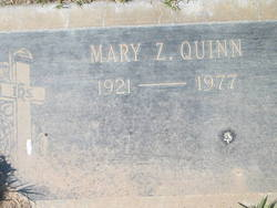 Mary Jane <i>Zigrang</i> Quinn