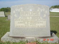 Annie E. <i>Sanders</i> Bruce