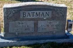 Joseph Wesley Batman