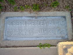 Joseph Wesley Algeo