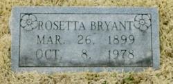 Rosetta <i>Bass</i> Bryant
