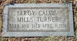 Leroy Calvin <i>Mills</i> Turner