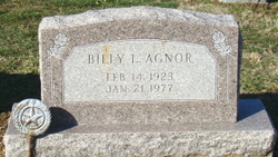 William L. Billy Agnor