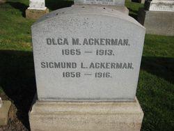 Olga <i>Mandlebaum</i> Ackerman