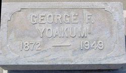 George F Yoakum