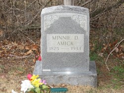 Minnie D. <i>Keller</i> Amick