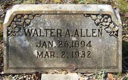 Walter A Allen