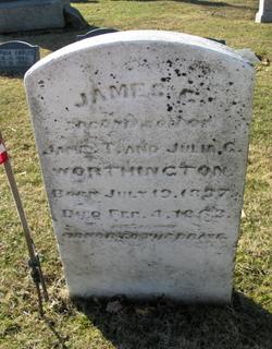 Pvt James C Worthington