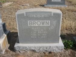 Mary Caroline <i>Tong</i> Brown