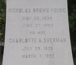 Charlotte Amelia <i>Sherman</i> Young