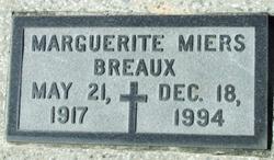 Marguerite <i>Miers</i> Breaux