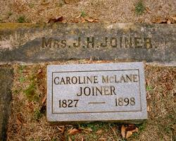 Caroline E. <i>McLane</i> Joiner
