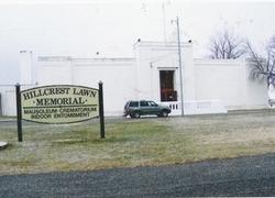Hillcrest Lawn Memorial