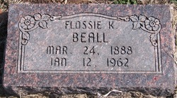 Flossie Bertha <i>Kelly</i> Beall