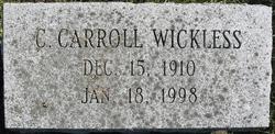 C. Carroll Wickless