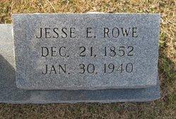 Jesse E. Rowe