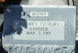 Audrey <i>Guidry</i> Barbier