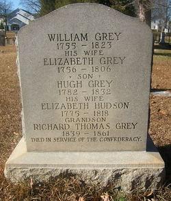 Elizabeth <i>Hudson</i> Grey
