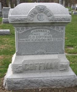 Hannah <i>Sandusky</i> Coffman