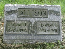 Hannah E. <i>Bowser</i> Allison