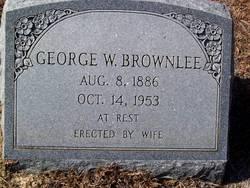 George W. Brownlee