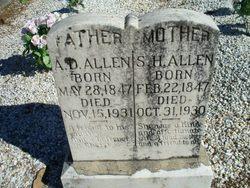 Sarah Harriett <i>Diffie</i> Allen