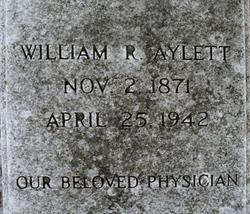 Dr William Roane Aylett